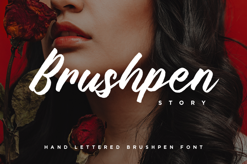 Brushpen Story Font - FontSpace