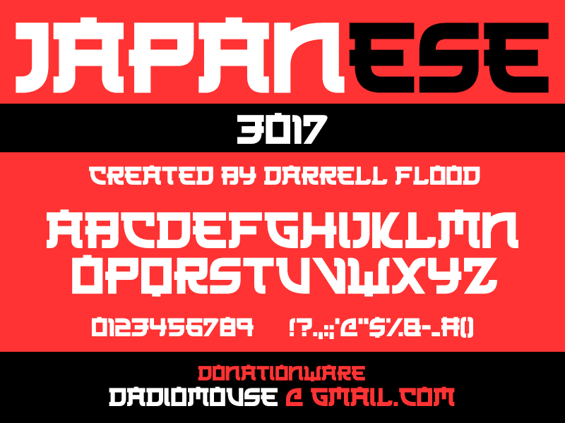 Asian Fonts - 187 styles - FontSpace