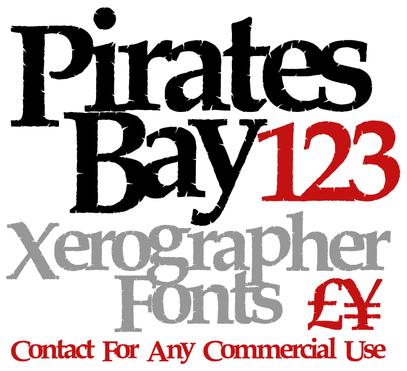 Pirates Fonts - 62 styles - FontSpace