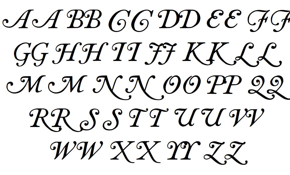 Caslon swash Font - FontSpace