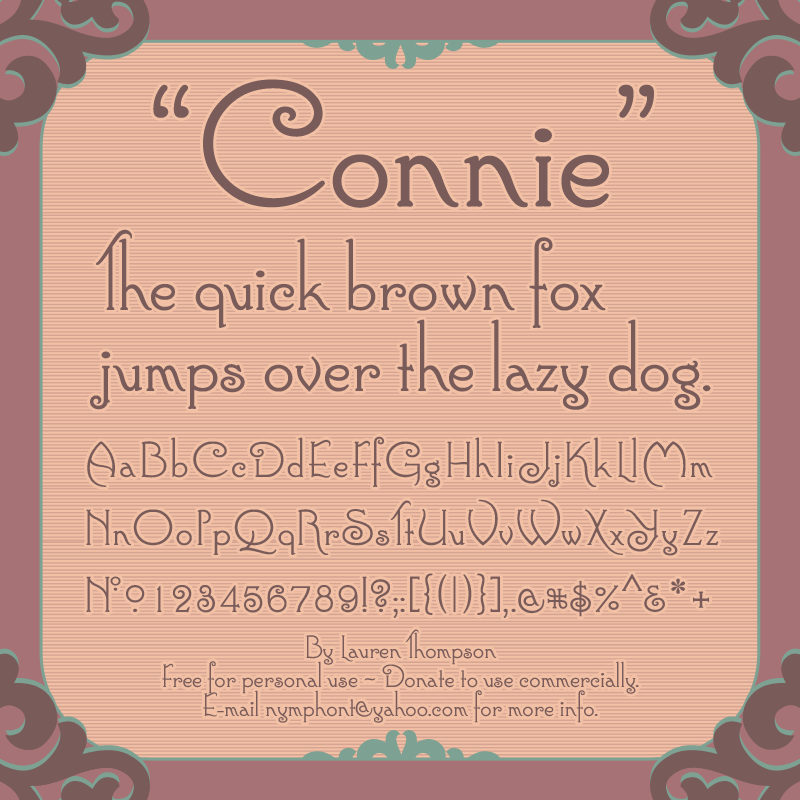 Victorian Fonts - Download 114 free styles - FontSpace