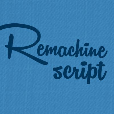 Remachine Script Personal Use Font - FontSpace